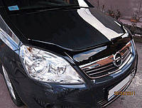 Дефлектор на капот (мухобойки)  Opel Zafira B 2006-2011
