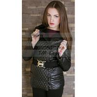 Женская стеганная куртка-жакет, тренд сезона