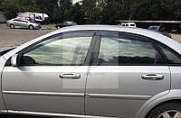 Дефлекторы окон (ветровики) Chevrolet lacetti sedan (шевроле лачетти седан 2004+)