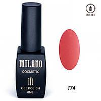 Гель-лак Milano 8 мл. №174⭐⭐⭐⭐⭐, фото 1