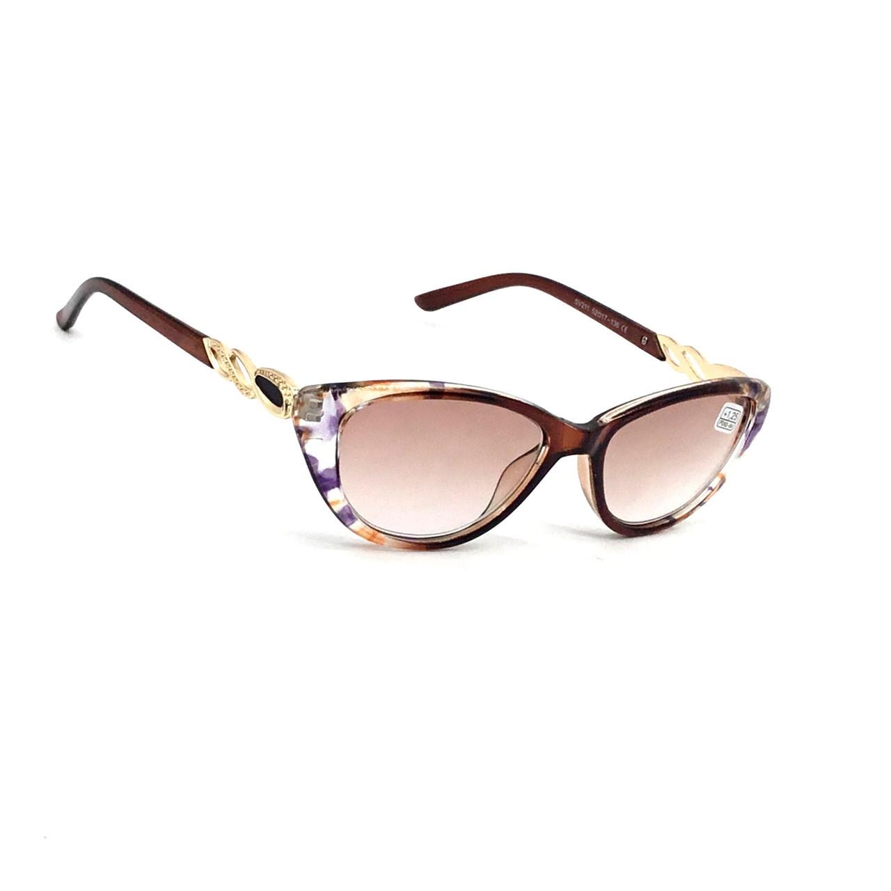Жіночі окуляри з тонованою лінзою 211
