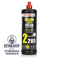 MENZERNA Medium Cut Polish 2200 Среднезернистая абразивная полировальная паста 1л