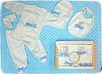 Подарочный набор одежды для новорожденных в коробке Турция, фото 1