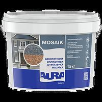 Силиконовая мраморная крошка Aura Luxpro Mosaik 15кг