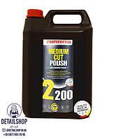 MENZERNA Medium Cut Polish 2200 Среднезернистая абразивная полировальная паста 5л