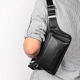Кожаная сумка на пояс 3016A, фото 8