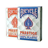 Покерные карты Bicycle Prestige (100% пластик)
