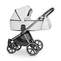 Детская универсальная коляска 2 в 1 Riko Qubus 04 Platinum