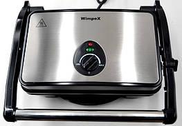 WimpeX WX-1065 (1500 Вт) Контактный гриль, сэндвичница