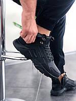 Мужские зимние кроссовки в стиле Nike Huarache x Acronym высокие (41, 42, 43, 44, 45 размеры)