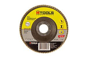 Диск шлиф, лепестковый 125*22 мм зерно 60 HTools, 62K106