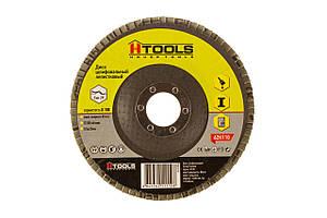 Диск шлиф, лепестковый 125*22 мм зерно 100 HTools, 62K110