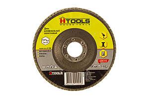 Диск шлиф, лепестковый 125*22 мм зерно 150 HTools, 62K115
