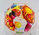 Детский прозрачный зонт трость Ёжик ТОП Качество, фото 2