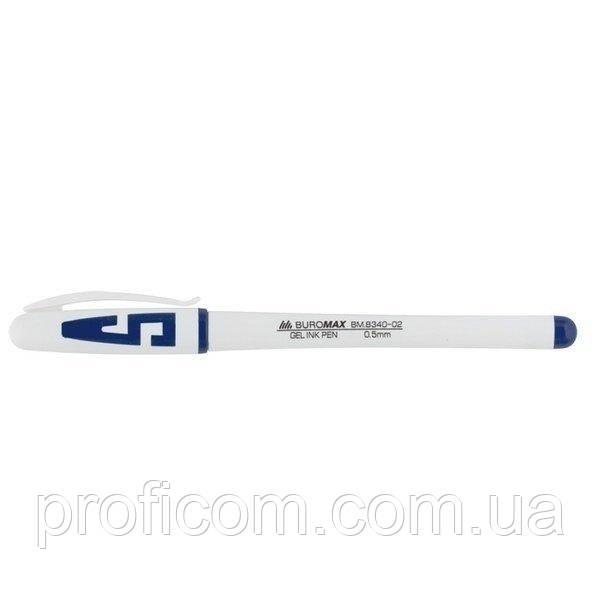 """Ручка гел. """"BuroMax"""" синя"""
