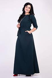 Длинное красивое платье 44-64 р-ры