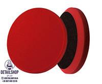 MENZERNA Heavy Cut Круг полировальный  на липучке 150мм, жесткий, красный