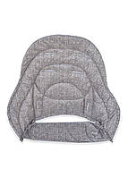 Дополнительный вкладыш DavLu к стульчику для кормления Chicco Polly Magic под джинс коричневый (Vkl-m-006)