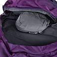 Качественный, туристический рюкзак 45 л. Onepolar W1638-violet фиолетовый, фото 8
