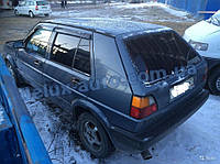 Ветровики Cobra Tuning на авто VW Golf II 5d 1983-1992 Дефлекторы окон Кобра для Фольксваген Гольф 2 5д 1983