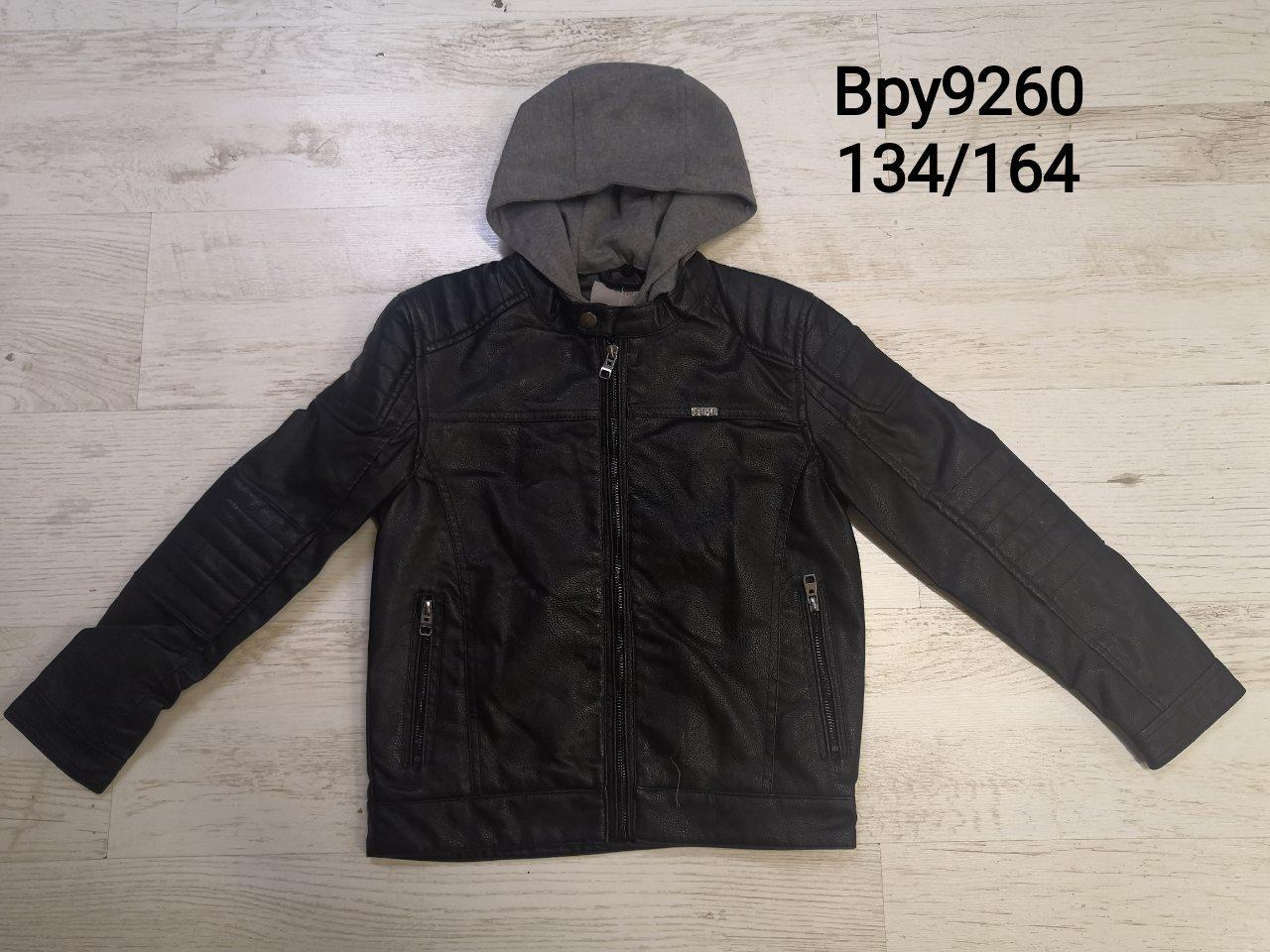 Куртки кожзам для мальчиков оптом, размеры 134-164,  Glo-story, арт. ВPY-9260