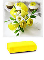 Мастика желтая цветочная МариАнна