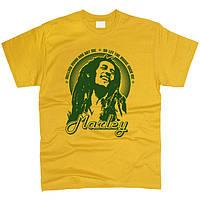 Bob Marley 03 Футболка Желтый, L