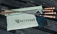 Чехол для мангала разборного - чемодан на 6 шампуров 40 см х 32 см