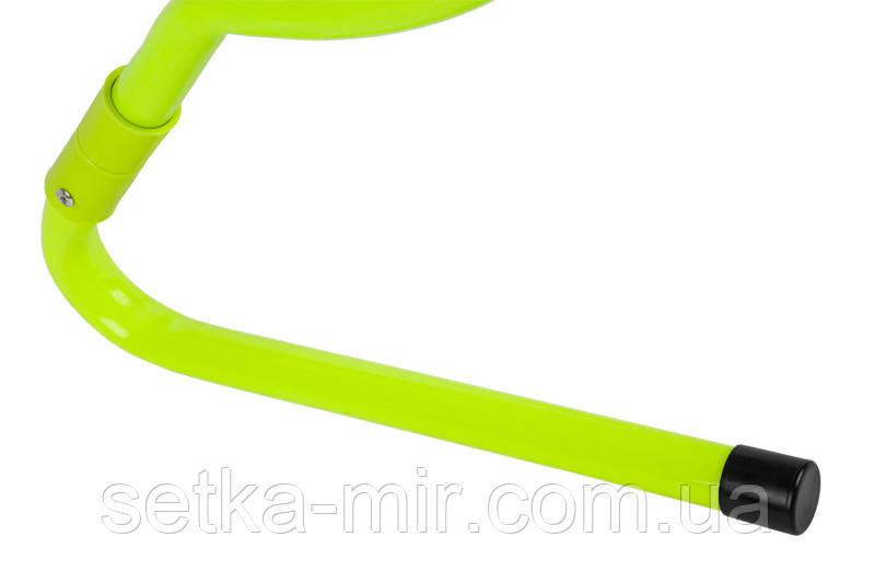 Набор беговых барьеров SECO 15-33 см цвет: неон (5 шт.)