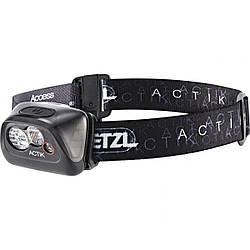 Налобный фонарик Petzl Actik 300 Lumens Black Hybrid Concept