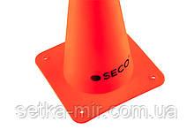 Тренировочный конус SECO 15 см цвет: оранжевый