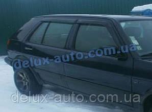 Ветровики Cobra Tuning на авто VW Golf III 5d 1991-1998 Дефлекторы окон Кобра для Фольксваген Гольф 3 5д 1991