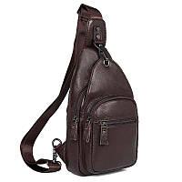 Кожаный рюкзак-сумка 4008C, фото 1
