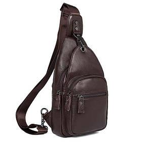Кожаный рюкзак-сумка 4008C