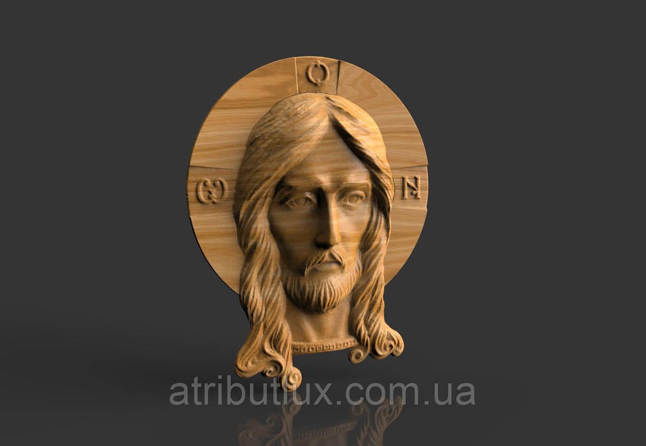 Барельеф Лик Иисуса