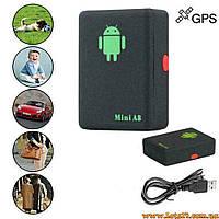 Портативный GPS-трекер Android A8 Mini (GSM маячок, портативная авто-сигнализация)