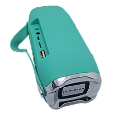 Беспроводная портативная влагозащищенная стерео колонка Hopestar H36 Mini Бирюзовая, фото 2