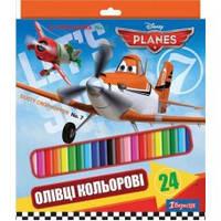 Цветные карандаши 24 цвета 290246