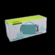 Беспроводная портативная влагозащищенная стерео колонка Hopestar H36 Mini Бирюзовая, фото 3