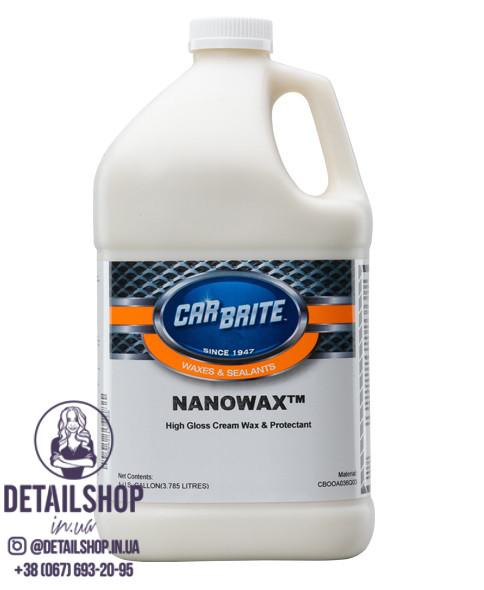 CARBRITE Nano Wax Жидкий воск с наночастицами карнауба