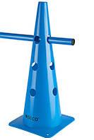 Тренировочный конус с отверстиями SECO 48 см цвет: синий, фото 1