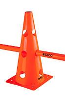 Тренировочный конус с отверстиями SECO 32 см цвет: оранжевый, фото 1