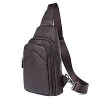 Кожаный рюкзак-сумка 4013Q