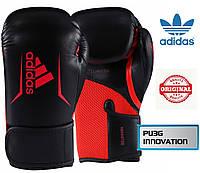 Боксерские перчатки Adidas SPEED 100 (ADISBG100-BKRD, Черно-красный), фото 1