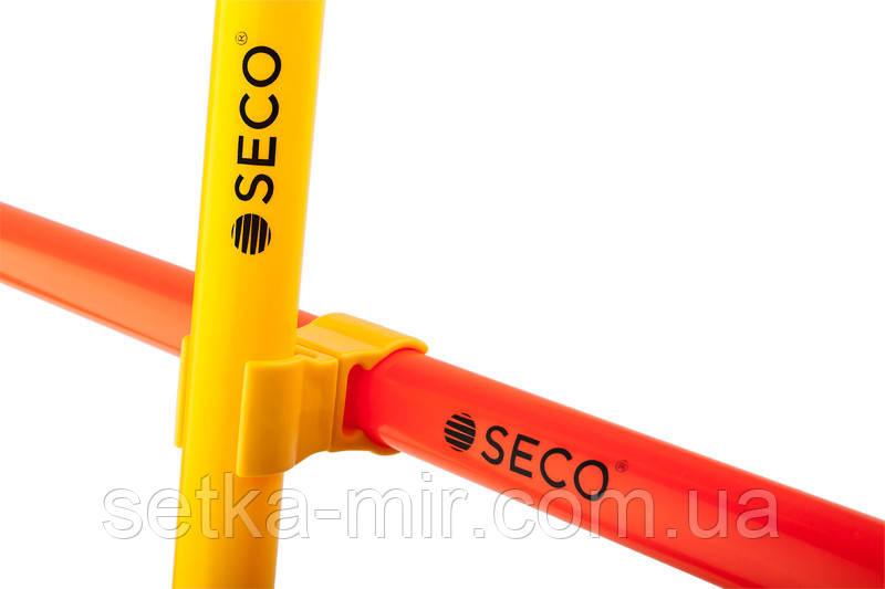 Клипса для слаломной стойки SECO цвет: желтый