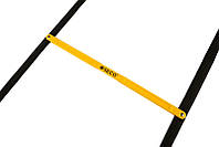 Беговая тренировочная лестница складная 12 ступеней 5,1 м цвет: желтый SECO , фото 1