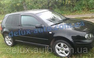 Ветровики Cobra Tuning на авто VW Golf IV 3d 1999-2005 Дефлекторы окон Кобра для Фольксваген Гольф 4 3д 1999