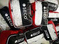 Футбольная сетка SECO толщина нити: 2 мм; размер:7.4х2.5х1.5 м