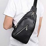Шкіряний рюкзак-сумка 4016A, фото 3