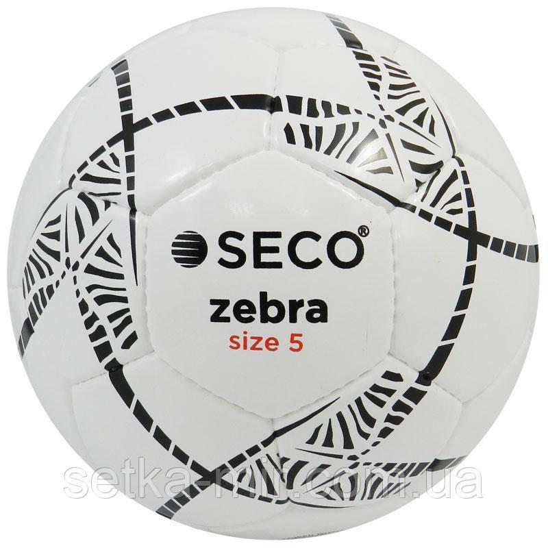 Мяч футбольный SECO Zebra размер 5